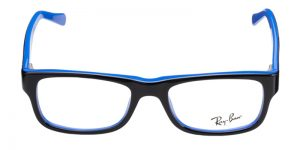 RAYBAN RX5268 5179 BLACK WITH BLUE-0